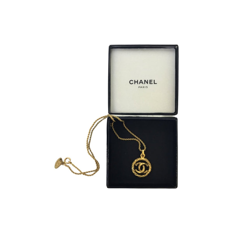 Chanel Logo Necklace - Jewelry - l'Étoile de Saint Honoré