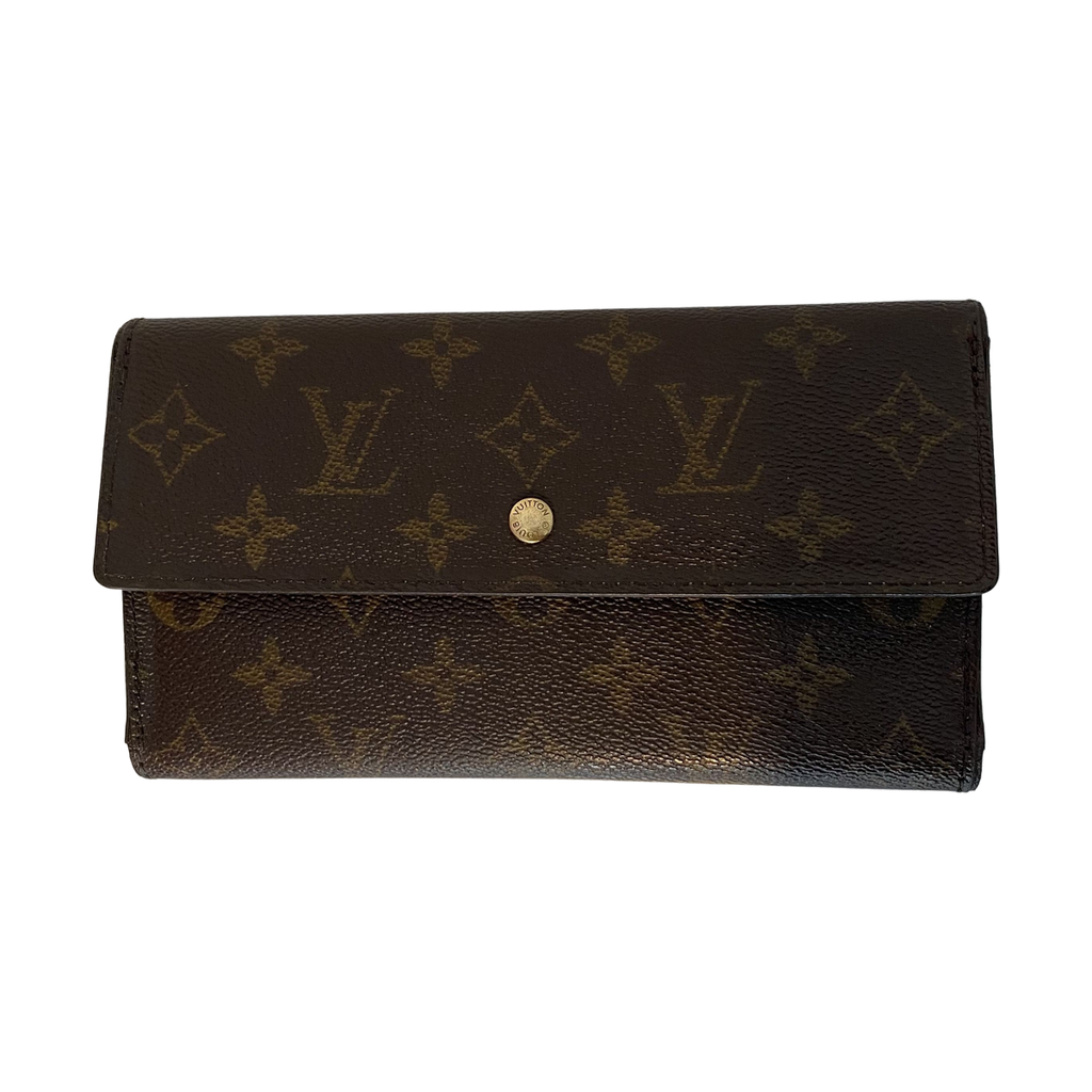 Louis Vuitton Louis Vuitton International Long Trifold Wallet Monogram Canvas - Wallets - Etoile Luxury Vintage