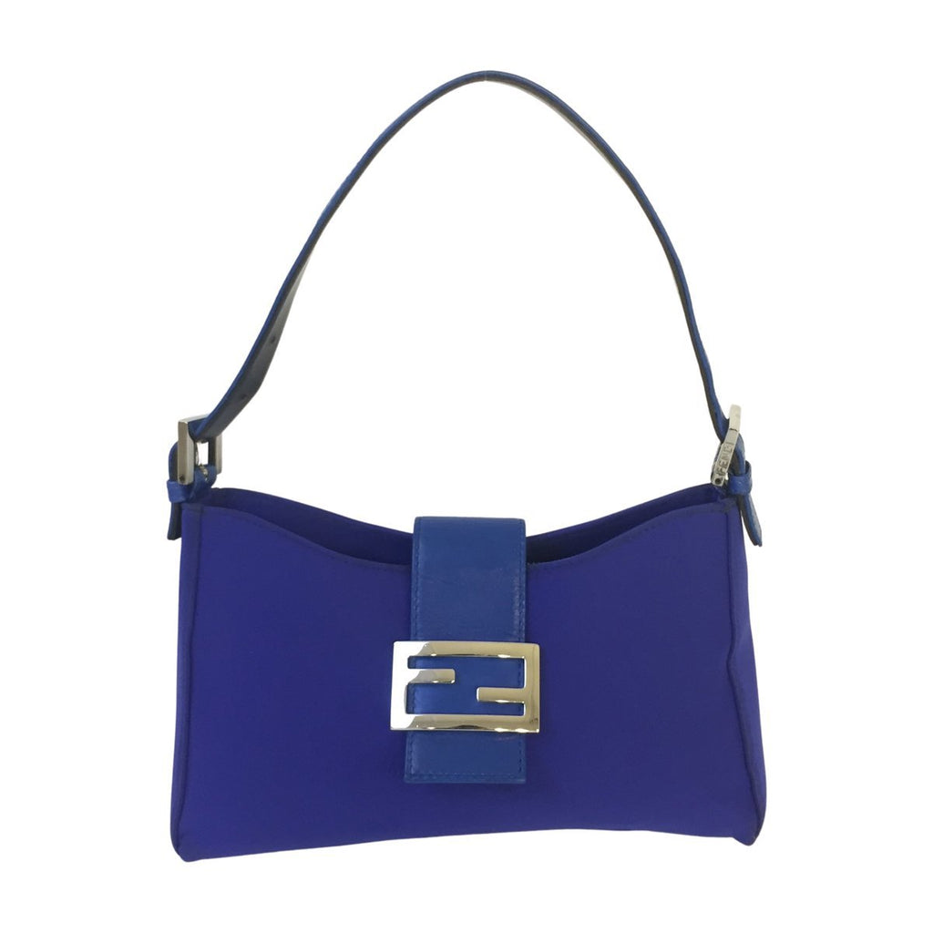 Fendi Fendi Shoulder Bag blue Cloth - Shoulder bags - Etoile Luxury Vintage