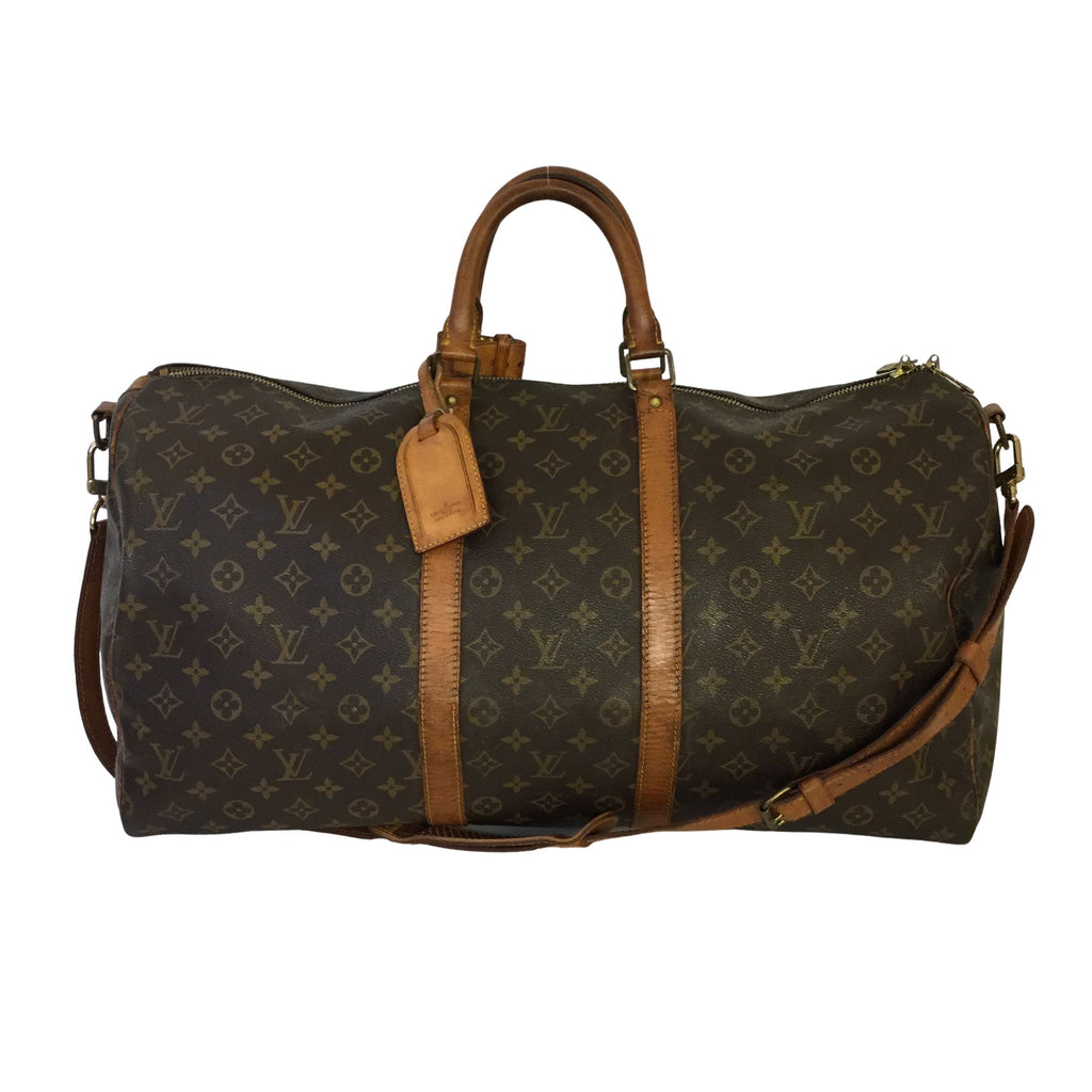 Louis Vuitton Louis Vuitton Keepall 55 with Bandoulière shoulder strap - Travel bags - Etoile Luxury Vintage