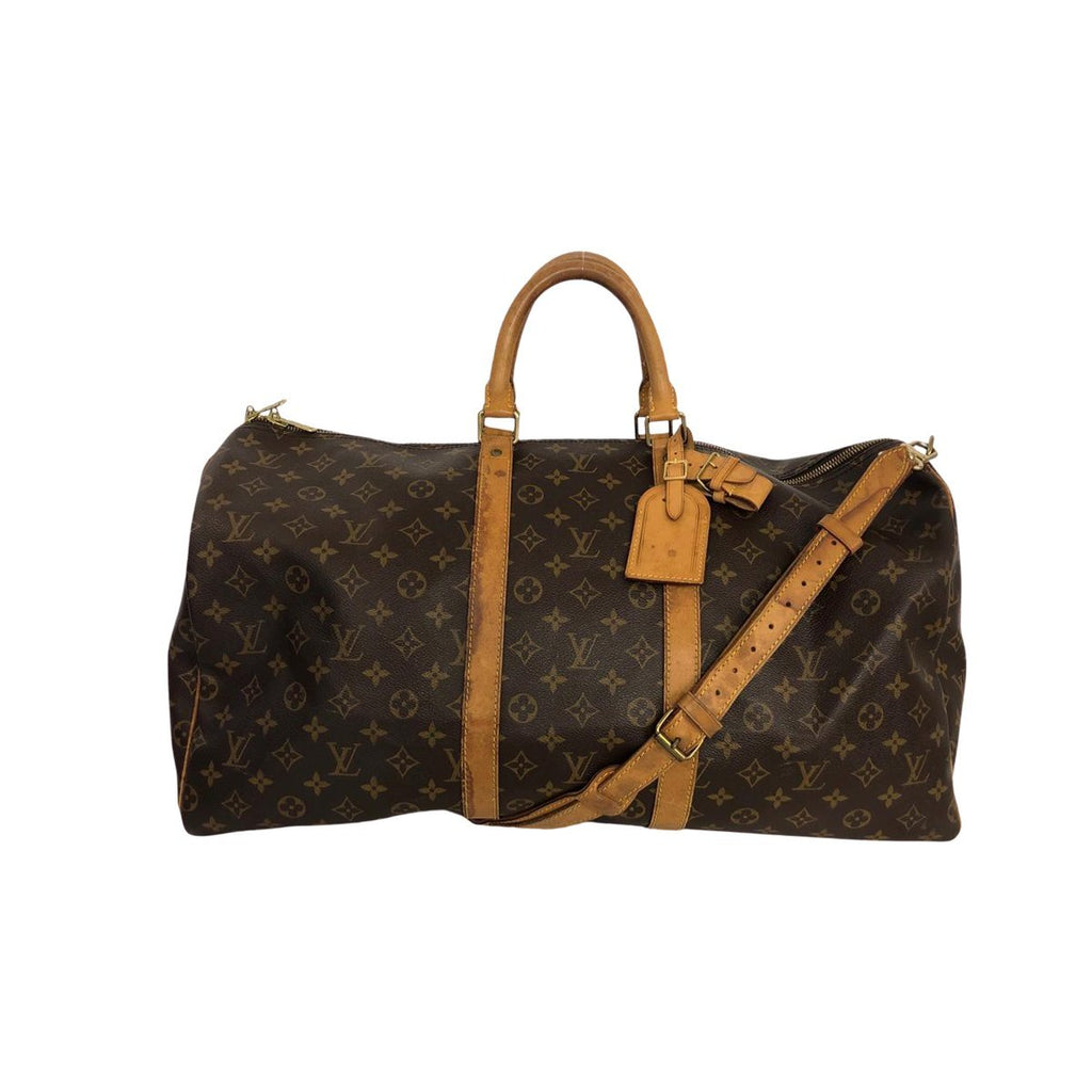 Louis Vuitton Louis Vuitton Keepall 55 with Bandoulière strap Monogram Canvas - Travel bags - Etoile Luxury Vintage