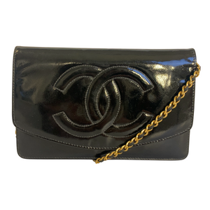 Chanel Chanel Wallet on Chain (WOC) Enamel Leather - Crossbody bags - Etoile Luxury Vintage