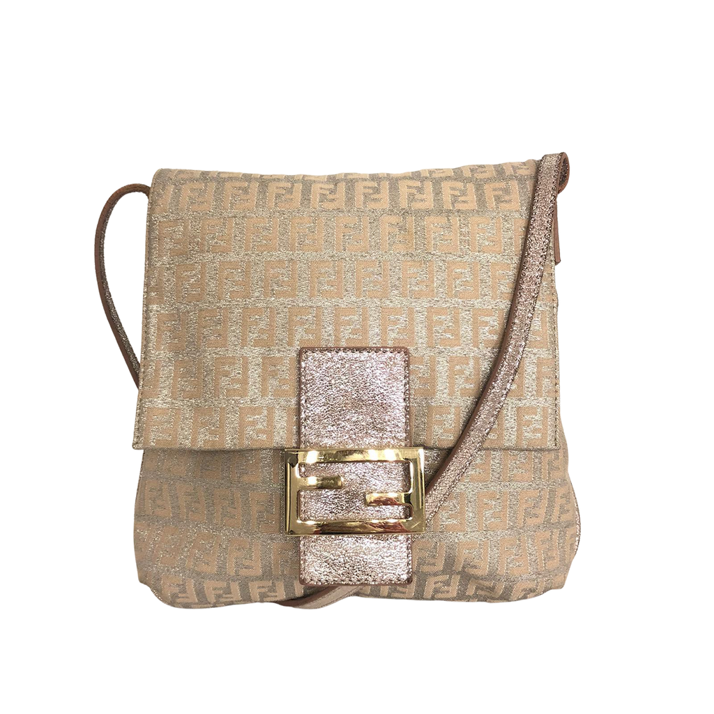Fendi Fendi Crossbody Bag Canvas - Crossbody bags - Etoile Luxury Vintage