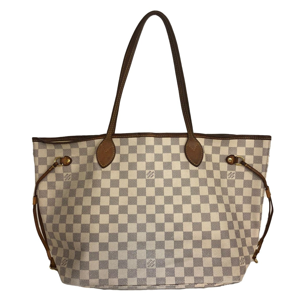Louis Vuitton Louis Vuitton Neverfull MM Damier Azur - Shoulder bags - Etoile Luxury Vintage