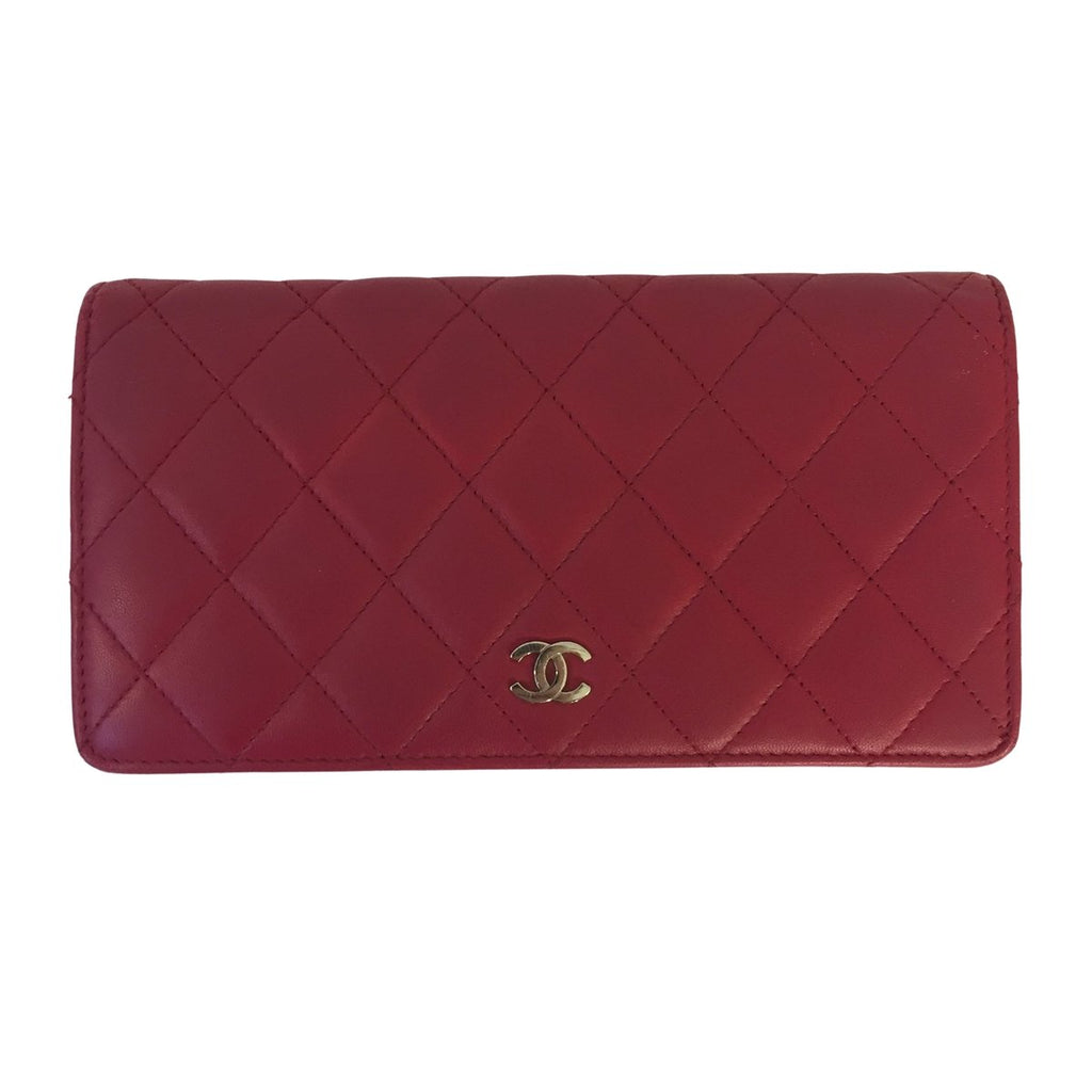 Chanel Long Flap Wallet Lambskin Leather - Wallets - l'Étoile de Saint Honoré