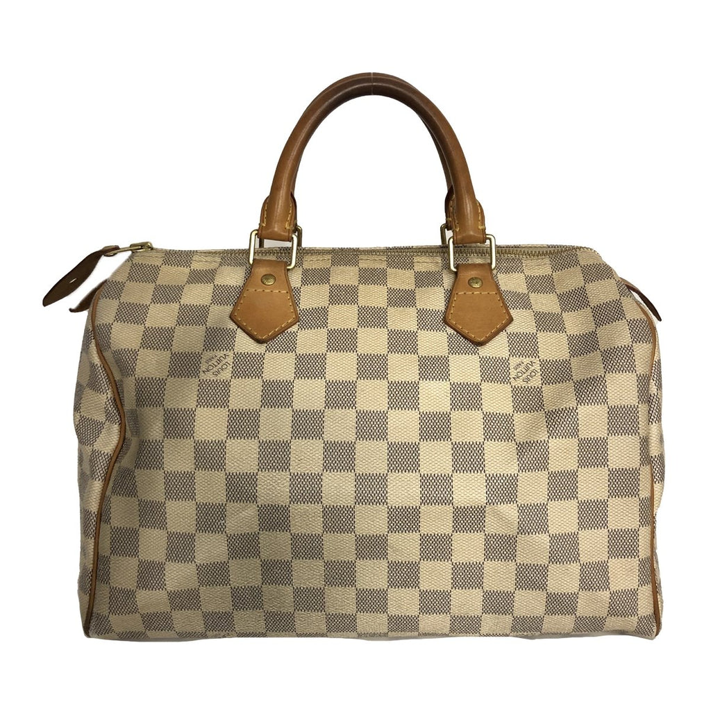 Louis Vuitton Louis Vuitton Speedy 30 Damier Azur Canvas - Handbags - Etoile Luxury Vintage