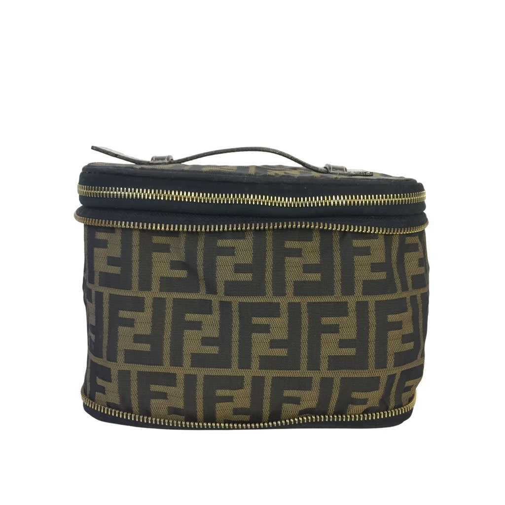 Fendi Zip Away Vanity bag Zucca Canvas - Toiletry bags - Etoile Luxury Vintage