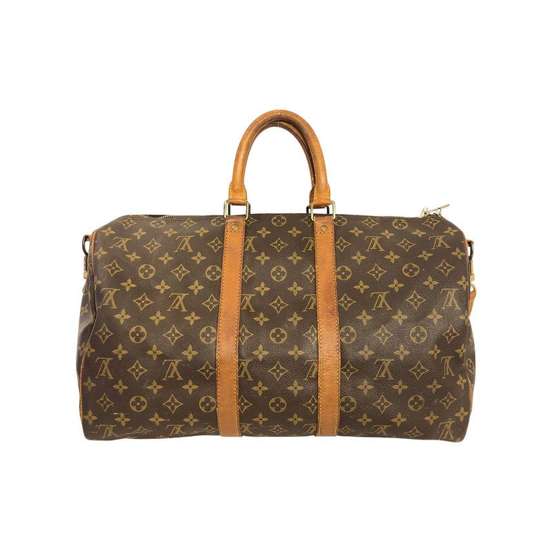 Louis Vuitton Louis Vuitton Keepall 45 with Bandoulière strap Monogram Canvas - Travel bags - Etoile Luxury Vintage