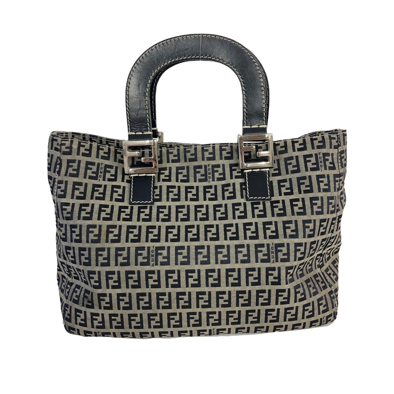Fendi Fendi Handbag blue Zucchino Canvas - Handbags - Etoile Luxury Vintage