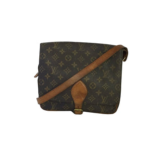 Louis Vuitton Louis Vuitton Cartouchière GM Monogram Canvas - Τσάντες crossbody - Etoile Luxury Vintage
