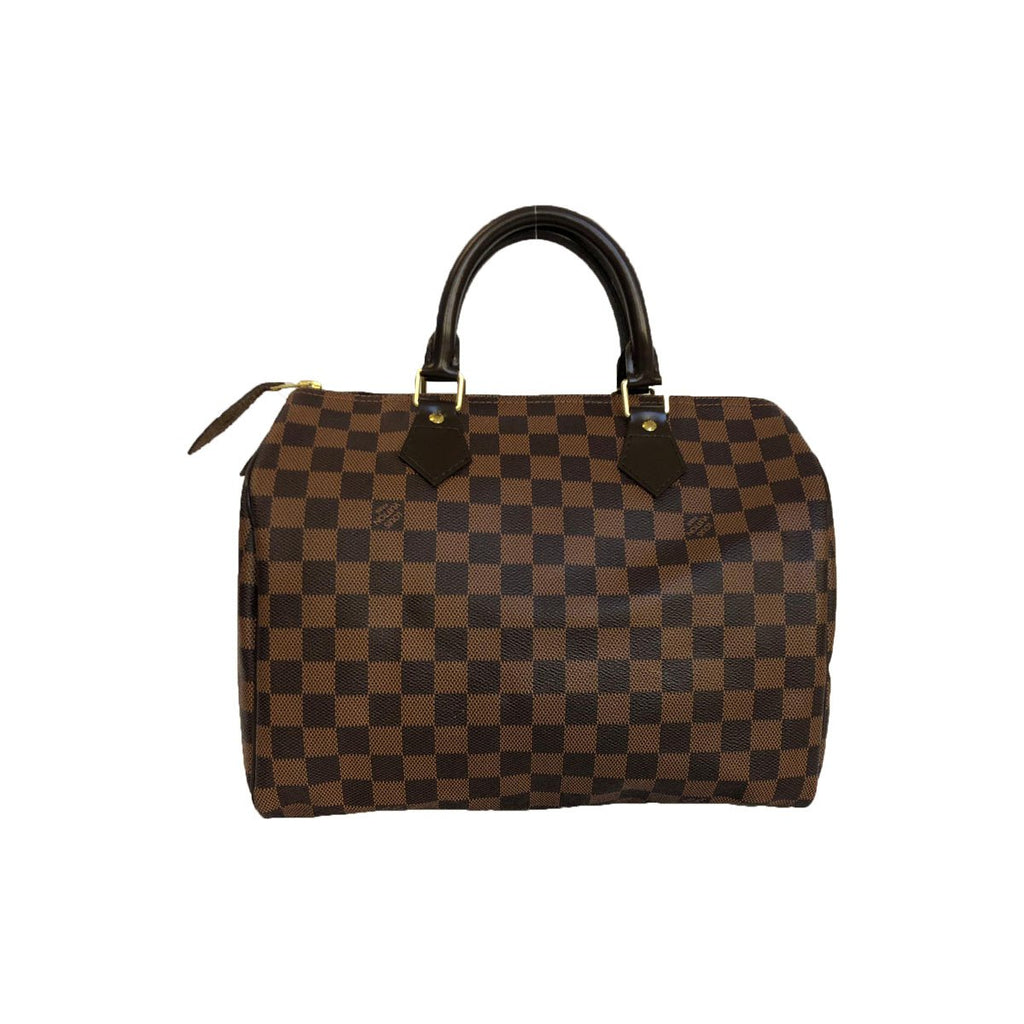 Louis Vuitton Louis Vuitton Speedy 30 Damier Ebene Canvas - Handbags - Etoile Luxury Vintage