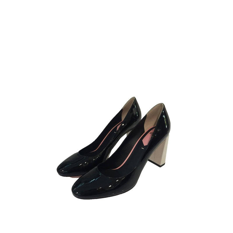 Fendi Fendi Heels black Patent Leather - Shoes - Etoile Luxury Vintage