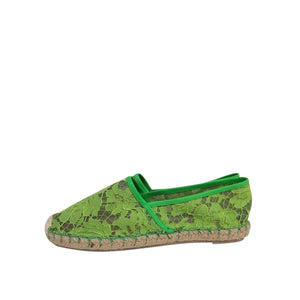 Valentino Valentino Espadrilles green Lace - Shoes - Etoile Luxury Vintage