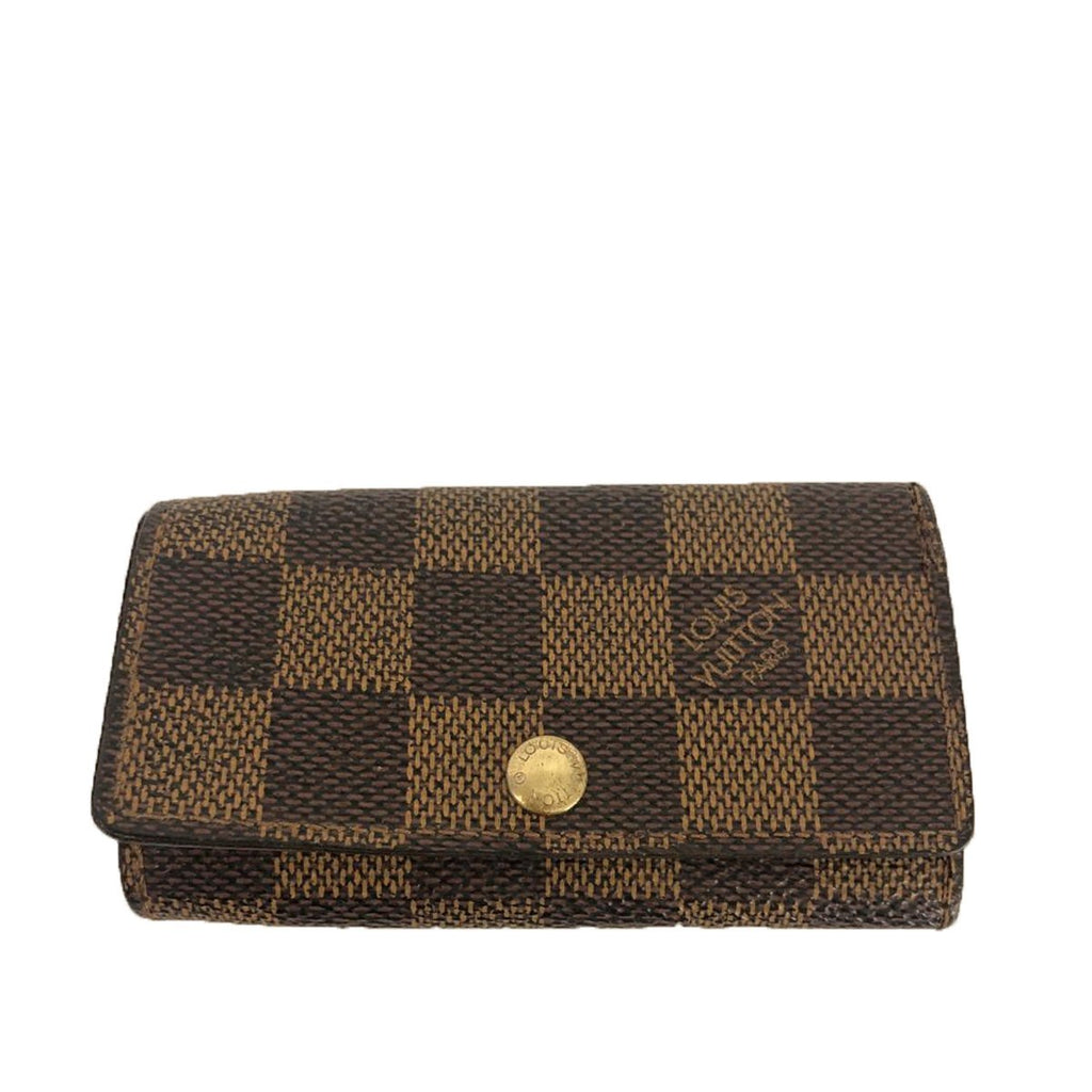 Louis Vuitton Louis Vuitton 4 Key Holder Damier Ebene Canvas - Wallets - Etoile Luxury Vintage