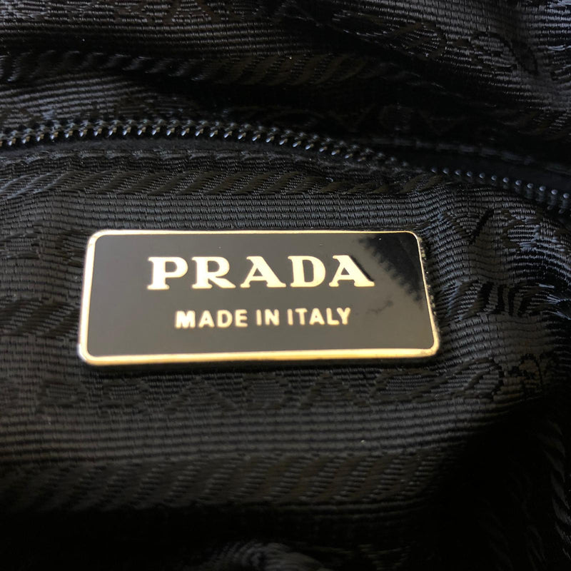 Prada Prada Crossbody Bag black Nylon - Crossbody bags - Etoile Luxury Vintage