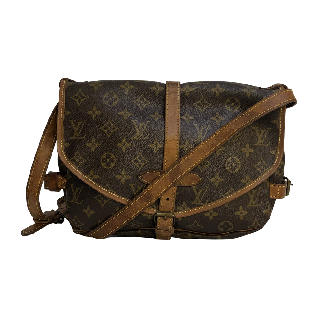 Louis Vuitton Louis Vuitton Saumur 30 Monogram Canvas - Crossbody bags - Etoile Luxury Vintage