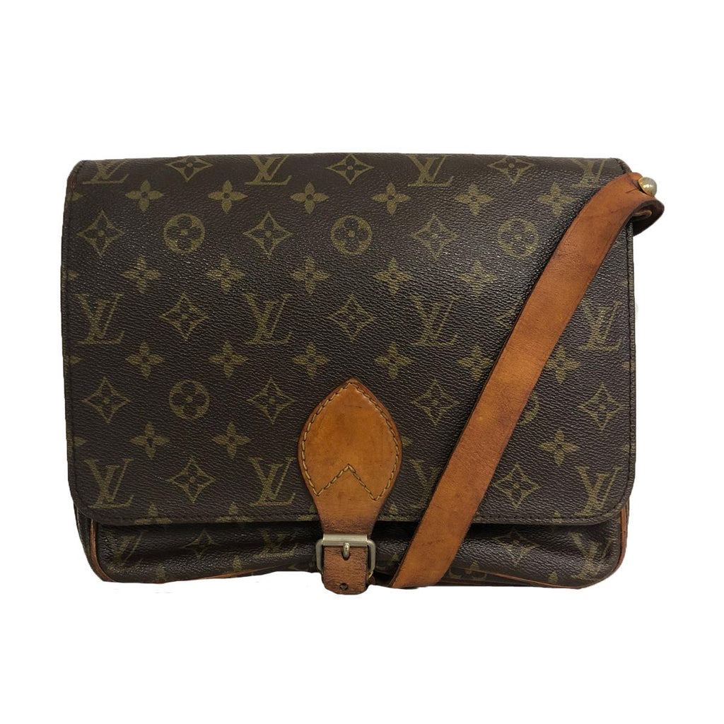 Louis Vuitton Louis Vuitton Cartouchière GM Monogram Canvas crossbody bag - Crossbody bags - Etoile Luxury Vintage