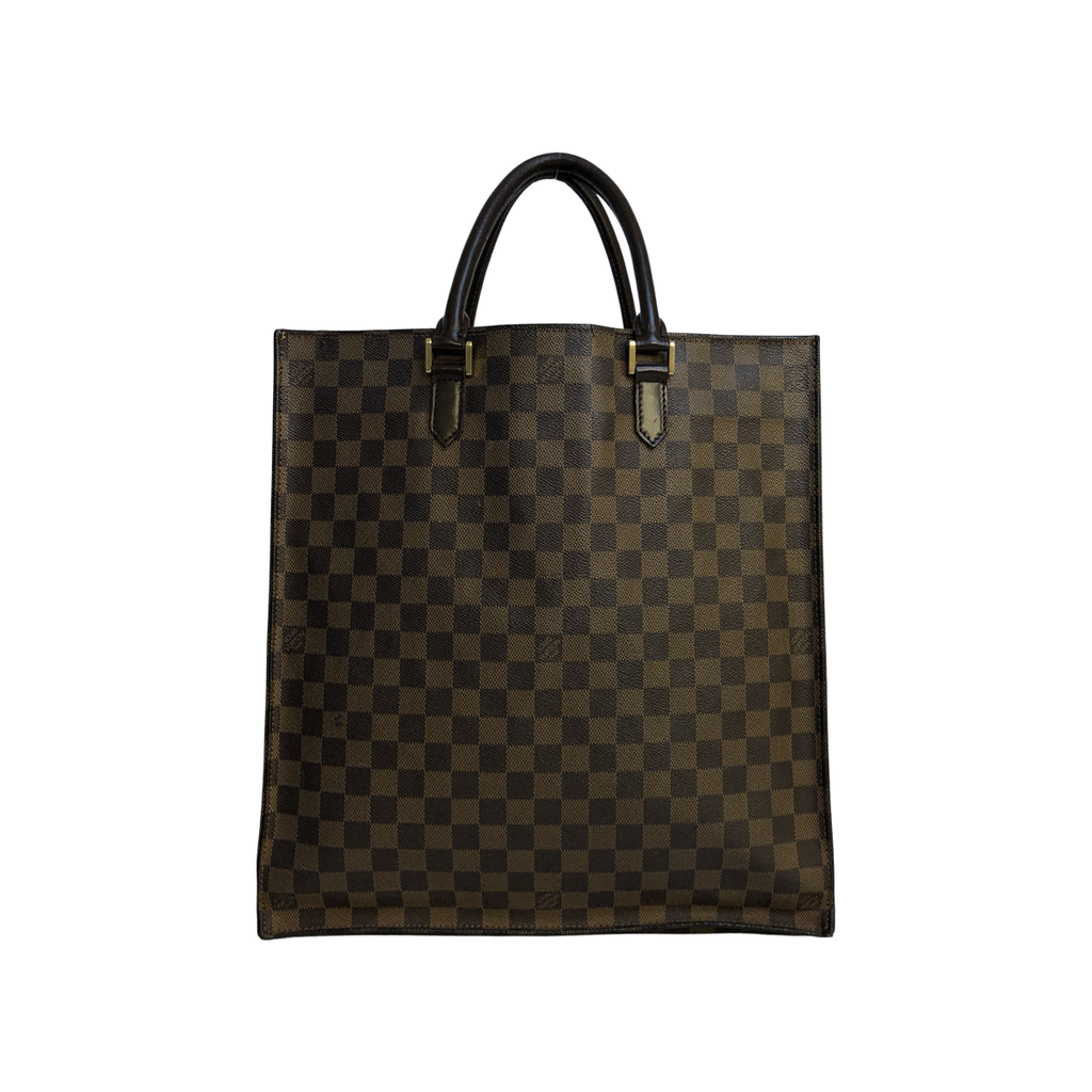 Louis Vuitton Sac Plat Damier Ebène Canvas