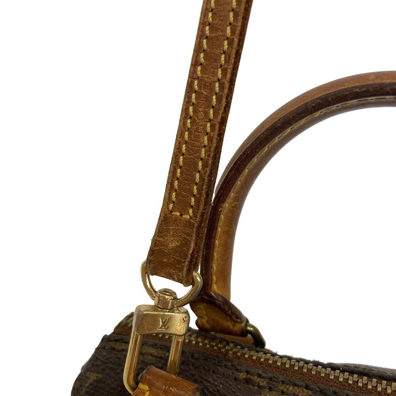 Louis Vuitton Louis Vuitton Speedy Mini HL Monogram Canvas with strap - Crossbody bags - Etoile Luxury Vintage