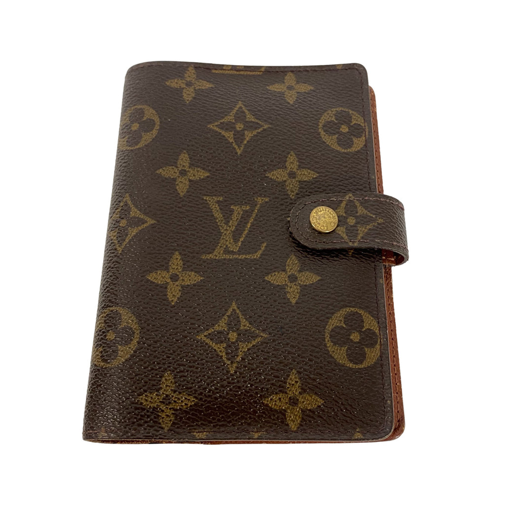 Louis Vuitton Louis Vuitton Small Ring Agenda Cover Monogram Canvas - Accessories - Etoile Luxury Vintage