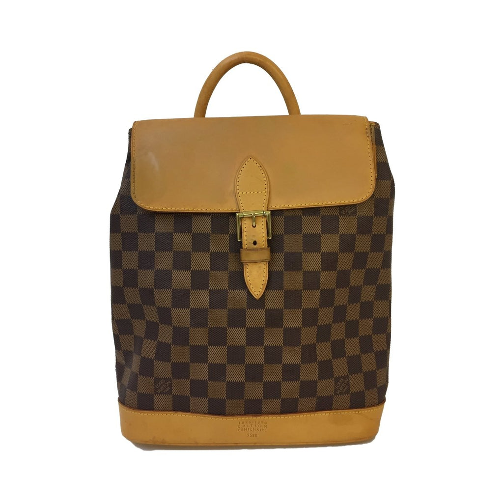 Louis Vuitton Louis Vuitton Soho backpack Damier Ebene (Limited Edition) - Backpacks - Etoile Luxury Vintage