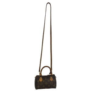 Louis Vuitton Louis Vuitton Speedy Mini HL Monogram Canvas with λουράκι - Τσάντες crossbody - Etoile Luxury Vintage