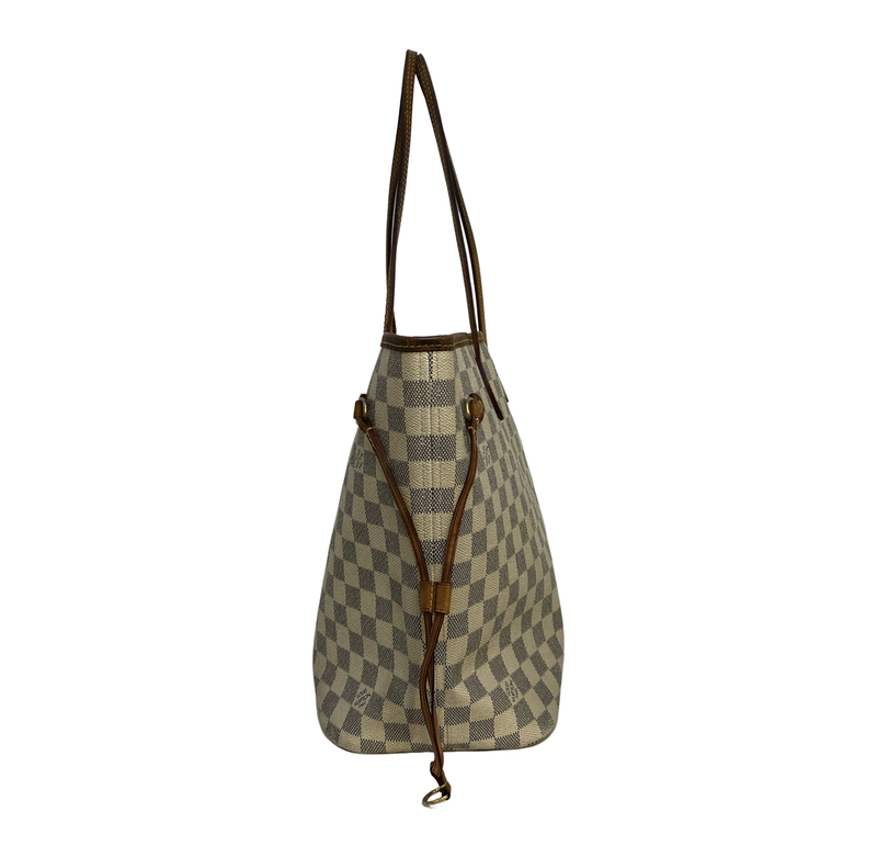 Louis Vuitton Louis Vuitton Neverfull MM Damier Azur Canvas - Shoulder bags - Etoile Luxury Vintage
