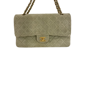 Chanel Chanel Classic Flap Bag Medium Quilted Suede - Borse a spalla - Etoile Luxury Vintage