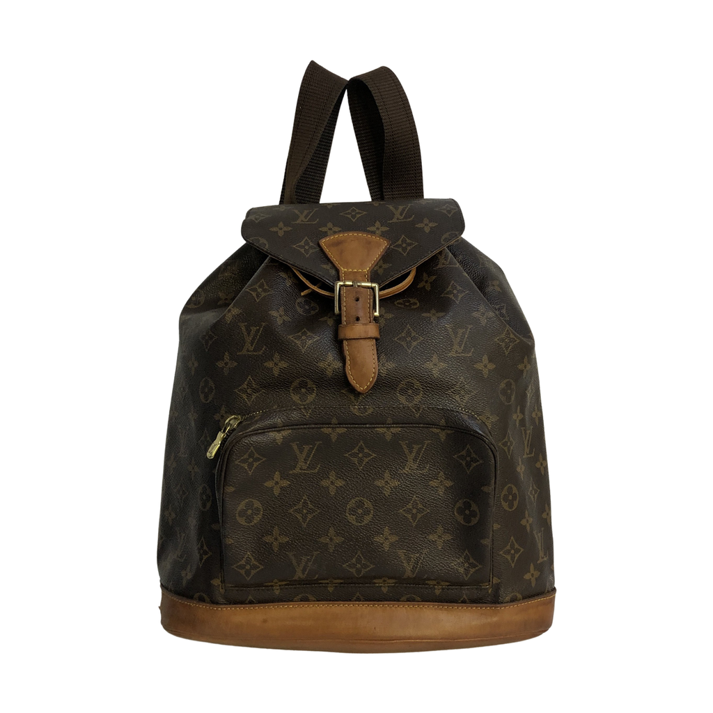 Louis Vuitton Louis Vuitton Montsouris GM Monogram Canvas - Backpacks - Etoile Luxury Vintage