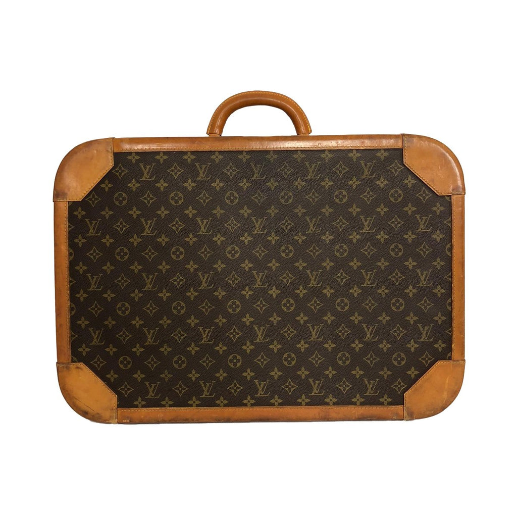 Louis Vuitton Louis Vuitton Stratos 60 Monogram Canvas trunk - Travel bags - Etoile Luxury Vintage