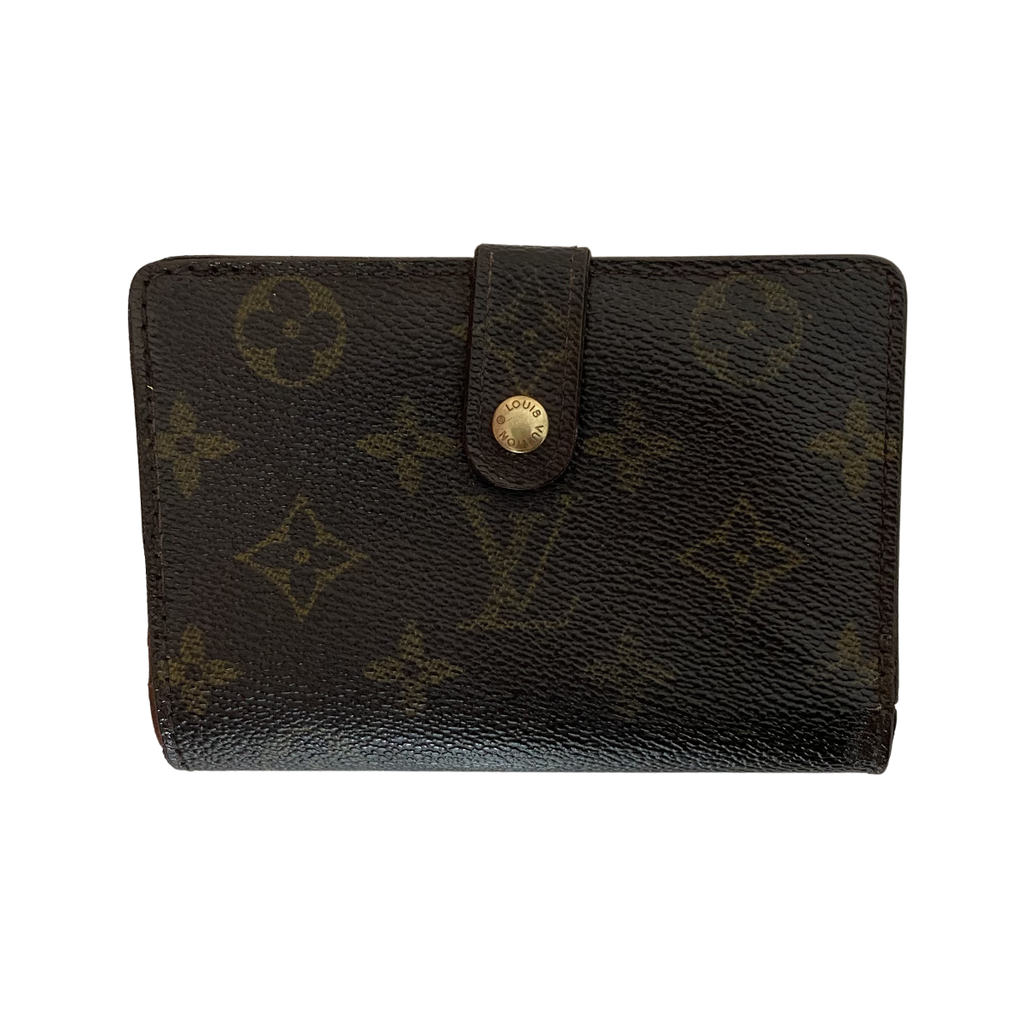 Louis Vuitton Louis Vuitton Viennois Wallet Monogram Canvas - Wallets - Etoile Luxury Vintage