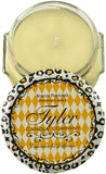 Tyler Glass Fragrance Candle 3.4 Oz,Pineapple Crush