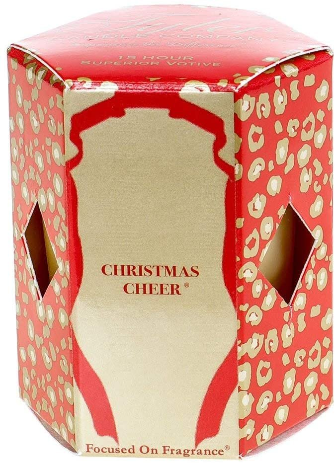 Tyler Christmas Cheer Votive Candle
