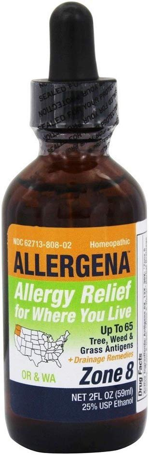 Allergena Allergy Relief Zone 8 - OR, WA 2oz