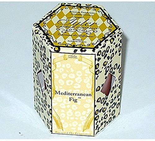 Tyler Candle 15-Hour Boxed Votive 2.0 Oz. Set of 4 - Mediterranean Fig