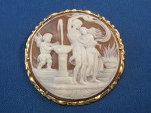Load image into Gallery viewer, CLASSIC CARVED STONE CAMEO...GREAT CARVING