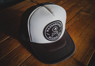 Mangobeard Circle Patch - Trucker Cap - mangobeard