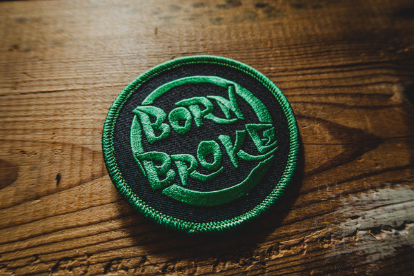 Born Broke - Patch - mangobeard