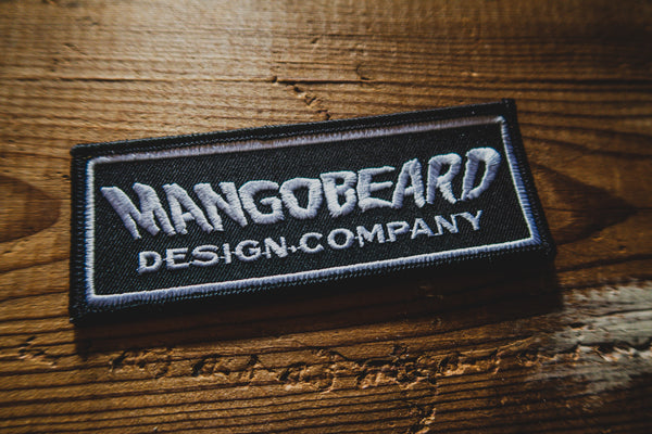 Mangobeard - Rectangular Logo - Patch - mangobeard