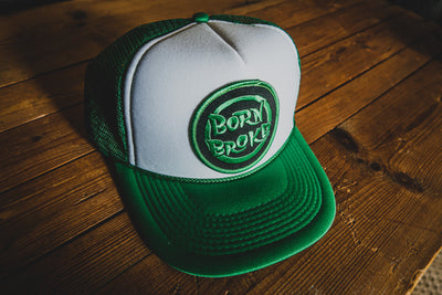 Born Broke - Trucker Cap - mangobeard