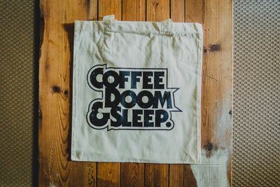 Coffee, Doom & Sleep - Tote Bag - mangobeard