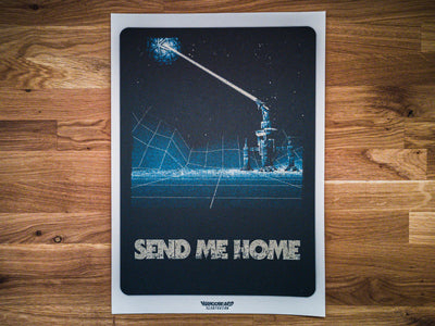 'Send Me Home' Print - mangobeard