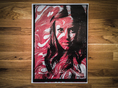'War Paint' Copy print - mangobeard