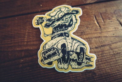 Weirdo - Sticker - mangobeard