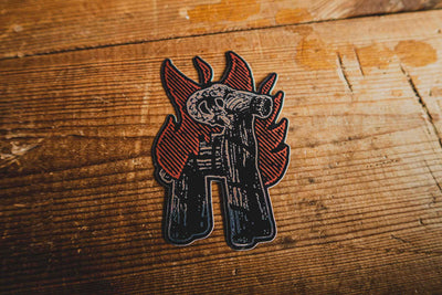 Goat Burner - Sticker - mangobeard