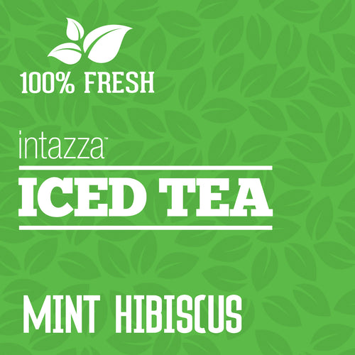 Premium Mint Hibiscus Iced Tea