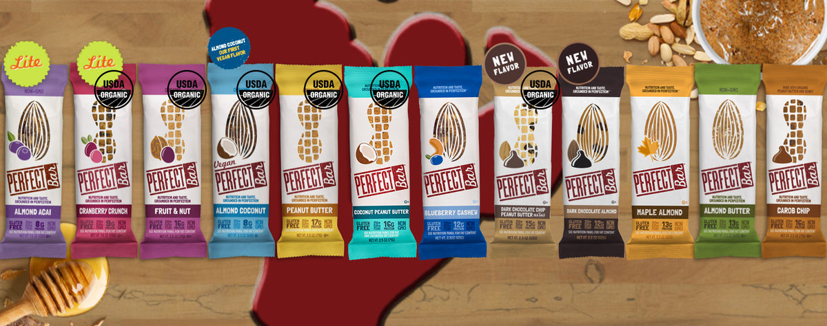 Perfect Bar by Perfect Foods. 12 Flavors. 2 New.