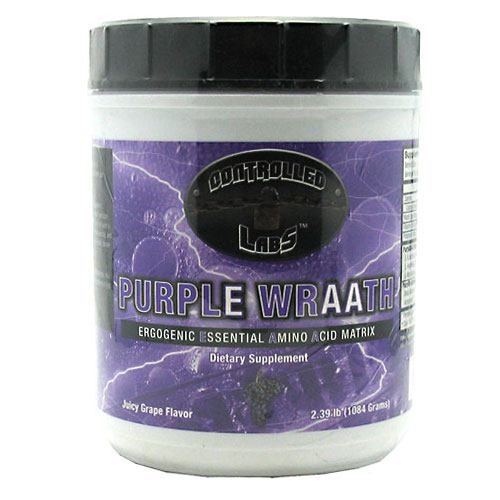 Controlled Labs, Controlled Labs Purple Wraath Juicy Grape 2.1 lb (945 g), 2.1 lb (945 g), Juicy Grape