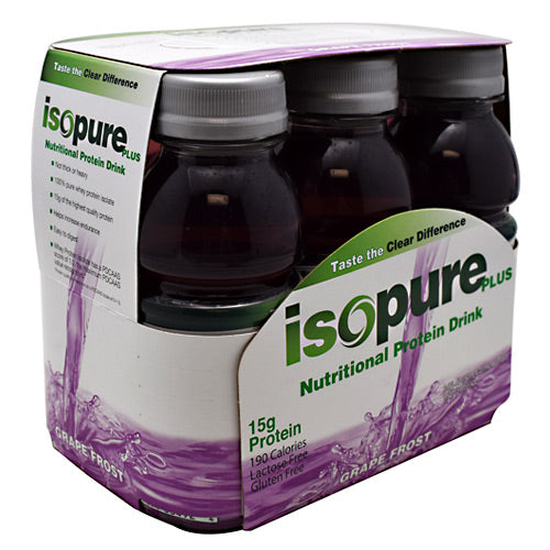 Nature's Best, Nature's Best Isopure Plus RTD Grape Frost 24 - 8 fl. oz. Bottles, 24 - 8 fl. oz. Bottles, Grape Frost