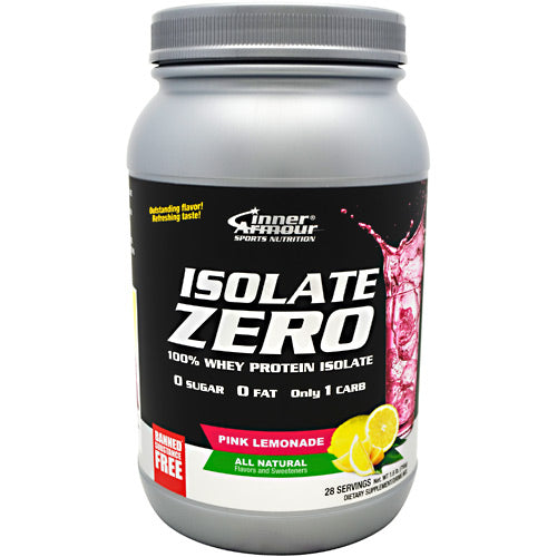 Inner Armour, Inner Armour Isolate Zero Pink Lemonade 28 Servings, 28 Servings, Pink Lemonade